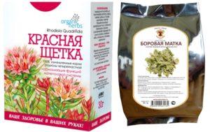 Какие пить травы при миоме матки