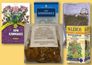Какие пьют травы при климаксе