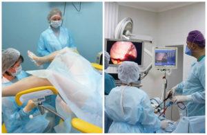 Подготовка к операции по удалению матки при миоме