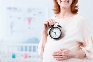 Беременность после 50 лет при климаксе