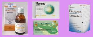 Гомеопатические капли при климаксе