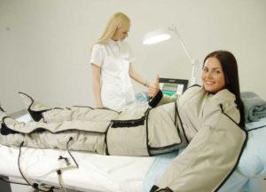 Прессотерапия при миоме матки