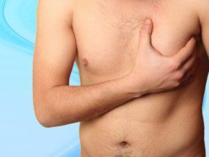 Боли в молочной железе у мужчин