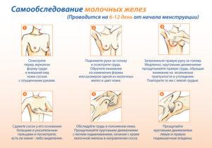 Как ощупать молочные железы