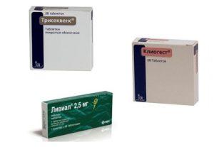 Згт при климаксе препараты нового поколения