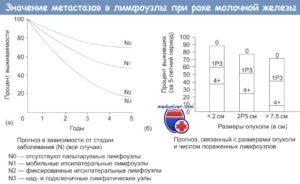 Выживаемость при раке молочной железы 2 стадии