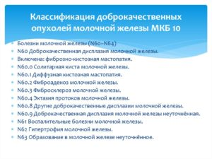 Фкм молочных желез мкб 10