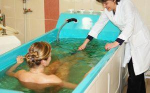 Радоновые ванны при миоме