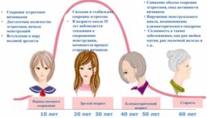 Нехватка эстрогена у женщин симптомы при климаксе
