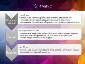 Климакс презентация