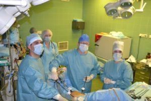 Операция по удалению миомы матки полостная