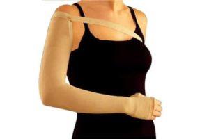 Компрессионный рукав на руку после удаления молочной железы