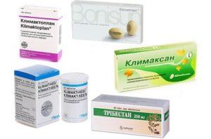 Растительные таблетки при климаксе