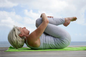 Упражнения йоги при климаксе