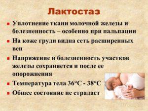 У кормящей мамы болит молочная железа и температура