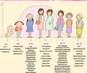 В каком возрасте начинается климакс у женщины