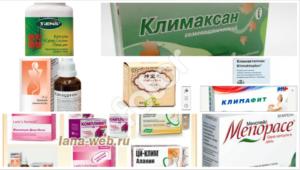 Лечение климакса у женщин после 50 лет препараты