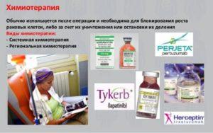 Препараты для химиотерапии при раке молочной железы