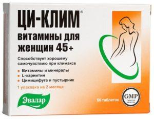 Продукция эвалар для женщин при климаксе