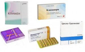 Какие препараты принимать после удаления матки и яичников