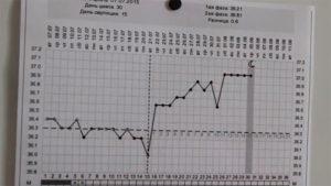 Базальная температура при эндометриозе