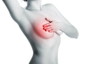 Боль в молочной железе справа у женщин