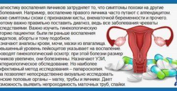 Простуда яичников симптомы у женщин